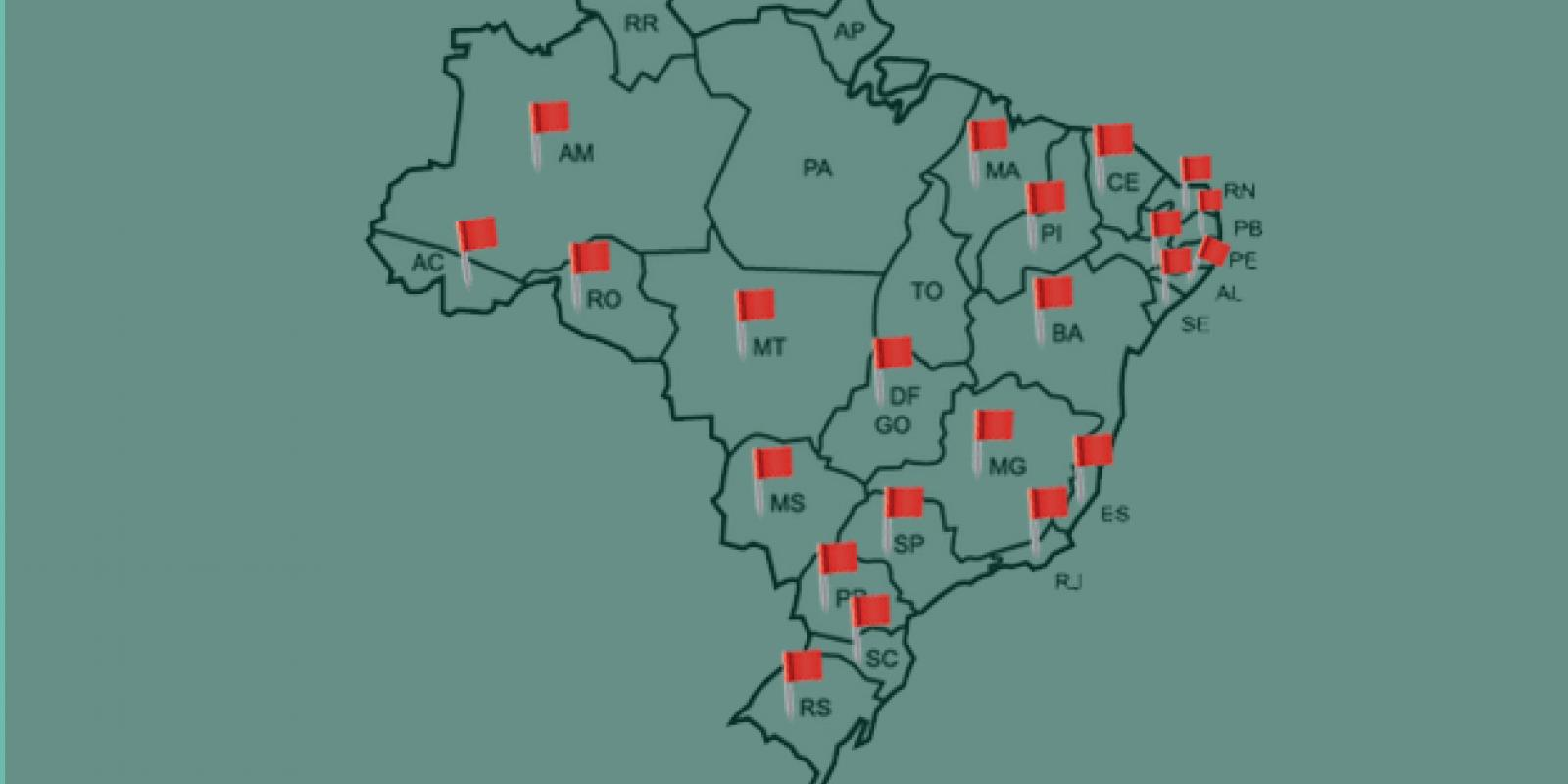 Estados que a HLN está presente